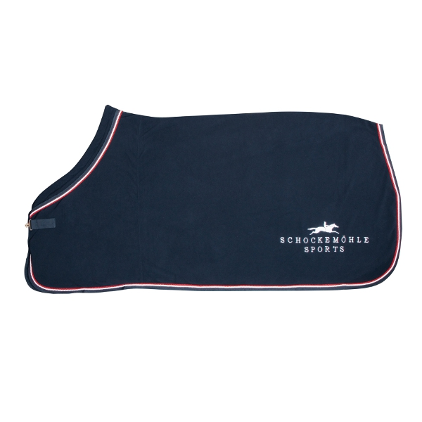 Derka polarowa FIRST CLASS PLUS Schockemohle bez logo - navy/red