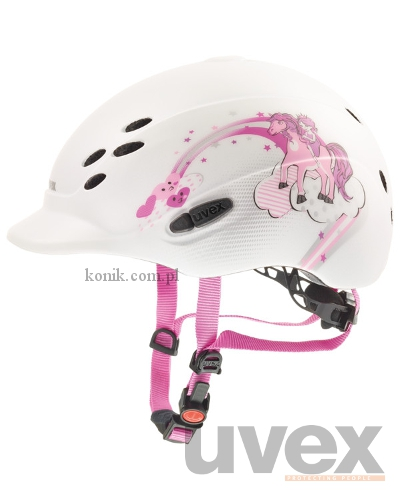 Kask UVEX model ONYX PRINCESS - biały