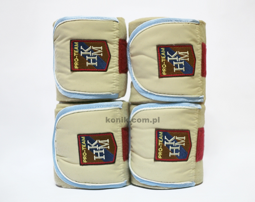 Bandaże polarowe PRO TEAM - HKM